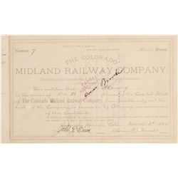 Colorado Midland Railway Co.  (104822)