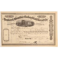 Denver & Boulder Valley Railroad Co.  (104821)