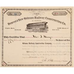 Denver & New Orleans Railway Construction Co.  (104816)