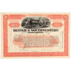 Denver & Southwestern Railway Co.  (104862)