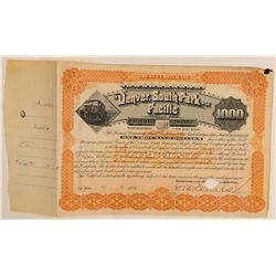Denver, South Park & Pacific Railroad Co.  (104839)