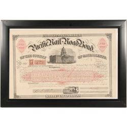 Early Pacific Railroad Bond  (102243)