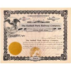 Gutheil Park Railway Co.  (104903)