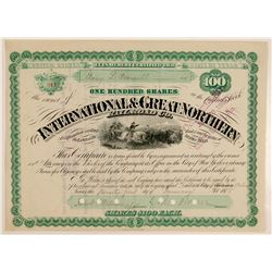International & Great Northern Railroad Co  (103211)