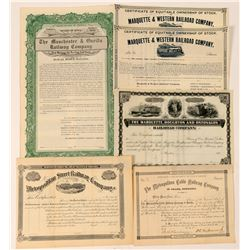 Iowa and Nebraska RR Co's Stock/Bond  (101369)