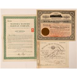 Maine, Delaware and Massachusetts  RR Co's  (101372)