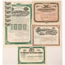 Massachusetts, Conn. W. Virginia stocks/bonds  (101274)