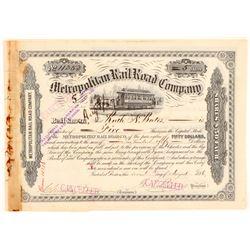 Metropolitan RailRoad Co  (101395)
