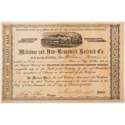 Millstone and New-Brunswick Railroad Co.  (101328)