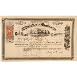 Milwaukee and Minnesota Railroad Co.  (101332)