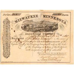 Milwaukee and Minnesota Railroad Co.  (101333)
