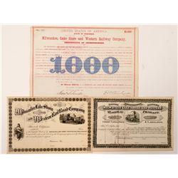 Milwaukee, Lakeshore and Western Railroad Co  (101271)
