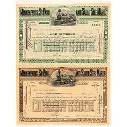 Minneapolis, St Paul and Sault SE Marie Railway Co.  (101358)
