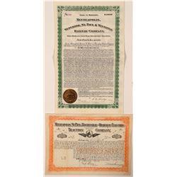 Minnesota and Maine Bond/ Stock (2)  (101270)
