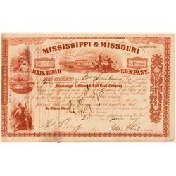 Mississippi & Missouri Railroad Co.  (101337)