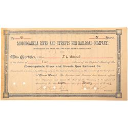 Monongahela River and Streets Run railroad Co.  (101257)