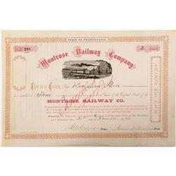 Montrose railway Co  (101255)