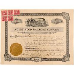 Mount Hood Railroad Co  (102479)