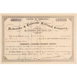 Nebraska & Colorado Railroad Co.  (104886)