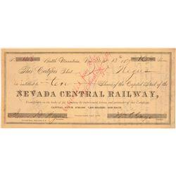 Nevada Central Railway   (102446)