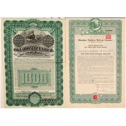 Oklahoma railway co. bonds  (102439)