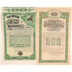 Oregon/Utah  bonds  (102438)