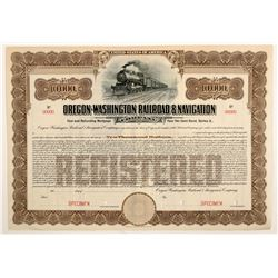 Oregon-Washington Railroad & Navigation Co  (102465)