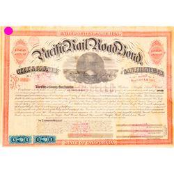 Pacific Rail-Road Bond  (101304)