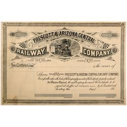 Prescott & Arizona Central Railway Co  (102464)