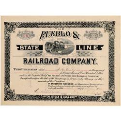 Pueblo & State Line Railroad Co.  (104828)
