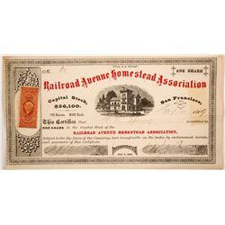 Railroad Avenue Homestead Assoc.  stock  (82719)
