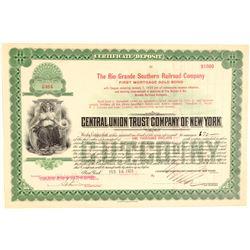Rio Grande Southern Railroad Co. Bond #2  (104889)
