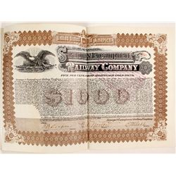 Saratoga and Encampment Railway Co Bond  (81724)