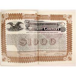 Saratoga and Encampment Railway Co Bond  (81724)