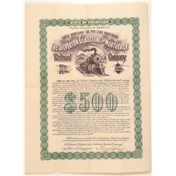 Silverton Gladstone and Northerly Railroad Co.  (104858)