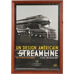 Steamboat Poster of Streamline Train  (91518)