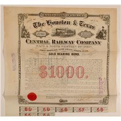 The Houston & Texas Central Railway Co  (103212)