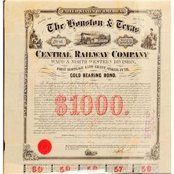 The Houston & Texas Central Railway Co  (101305)