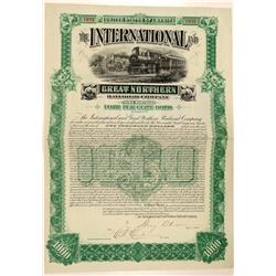 The International and Great Northern Railroad Co.  (103218)
