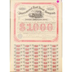 The International Railroad Co. of Texas  (101311)
