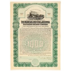 The Kansas and Oklahoma Southern Railway Co.  (102430)