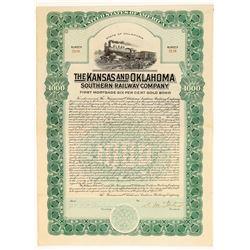 The Kansas and Oklahoma Southern Railway Co.  (102430)