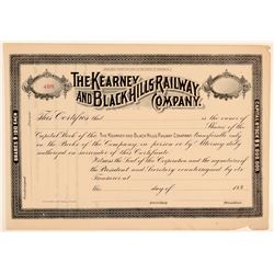 The Kearney and Blackhills Railway Co  (103223)