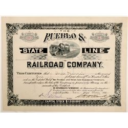 The Pueblo & State Line Railroad Co.  (102463)