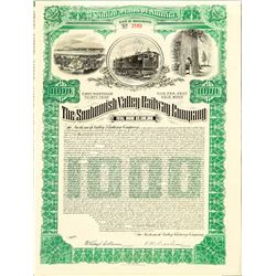 The Snohomish Valley Railway Co  Bond  (101306)