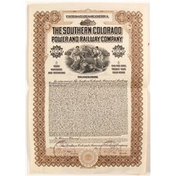 The Southern Colorado Power and Railway Co Bond  (81727)