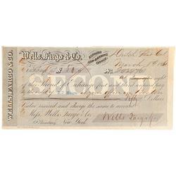 Wells Fargo Second of Exchange  (102273)