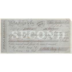 Wells Fargo Second of Exchange  (102266)