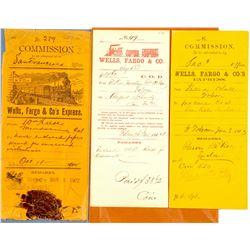 Commission and COD Wells Fargo Envelopes  (56030)