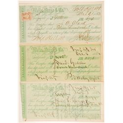 Three Wells Fargo Certificates  (102258)